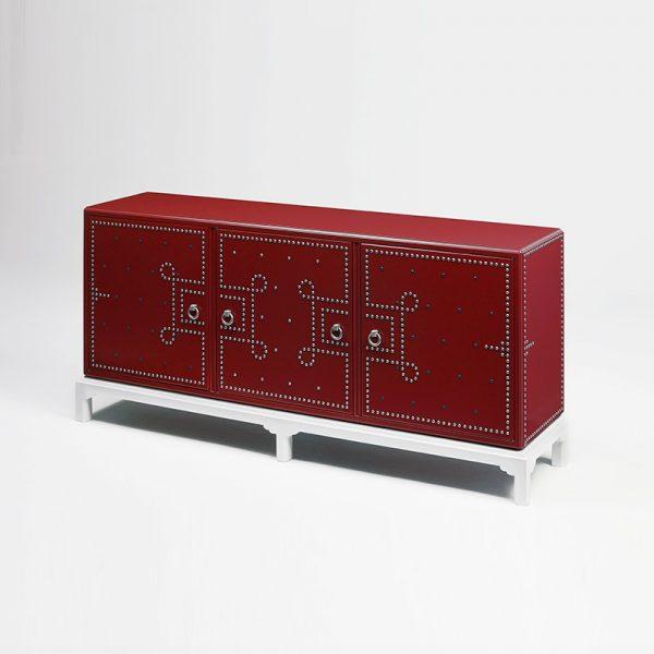 Benebetta-Sideboard-Red-Mapswonders