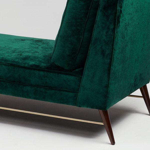 Turin Chaise Longue Back Detail