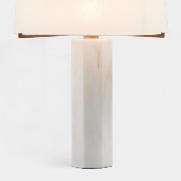 Ebro Table Lamp Detail by Mapswonders.com