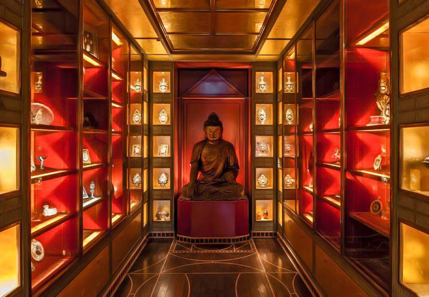 Cabinet de Curiosités-55-Rue-De-Babylone-Paris--Yves-Saint-Laurent-Pierre-Berge-Home-Apartment--House--Mapswonders.com