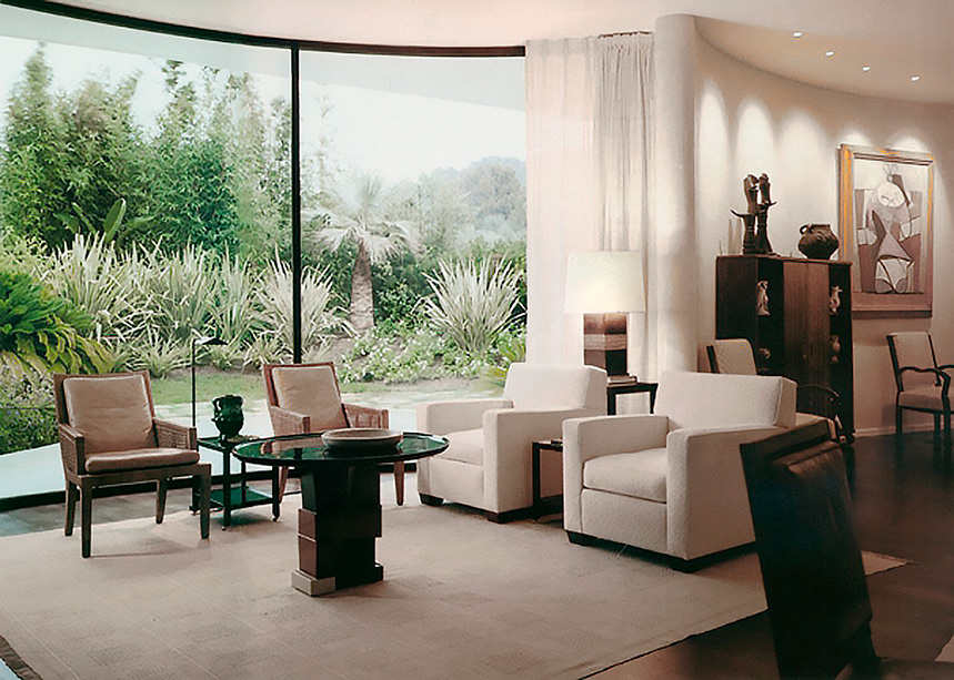 Villa-Nara-Mondadori-Oscar Niemeyer-Peter-Marino-Interior-Designer-Jean-Cap-Ferrat-Mapswonders-2